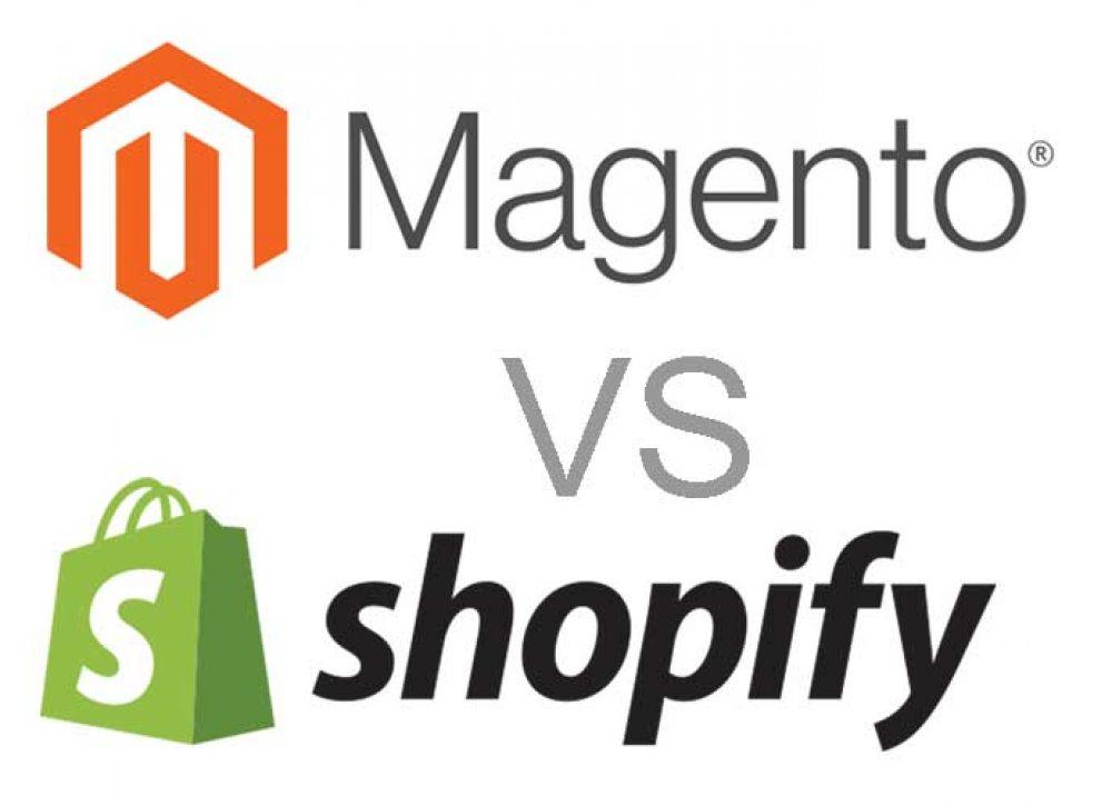 Magento VS Shopify – A Detailed Comparison