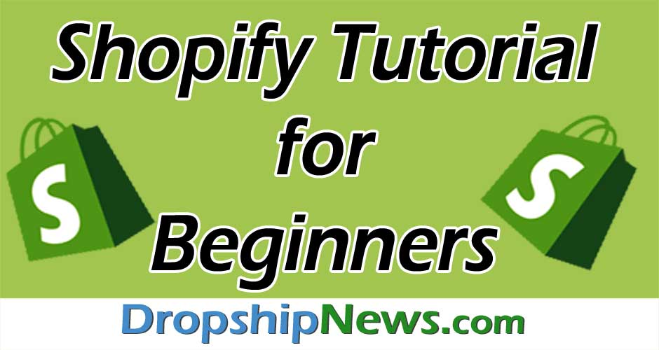 Shopify Tutorial For Beginners Header Image