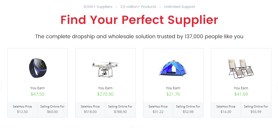 Salehoo Find Your Perfect Supplier