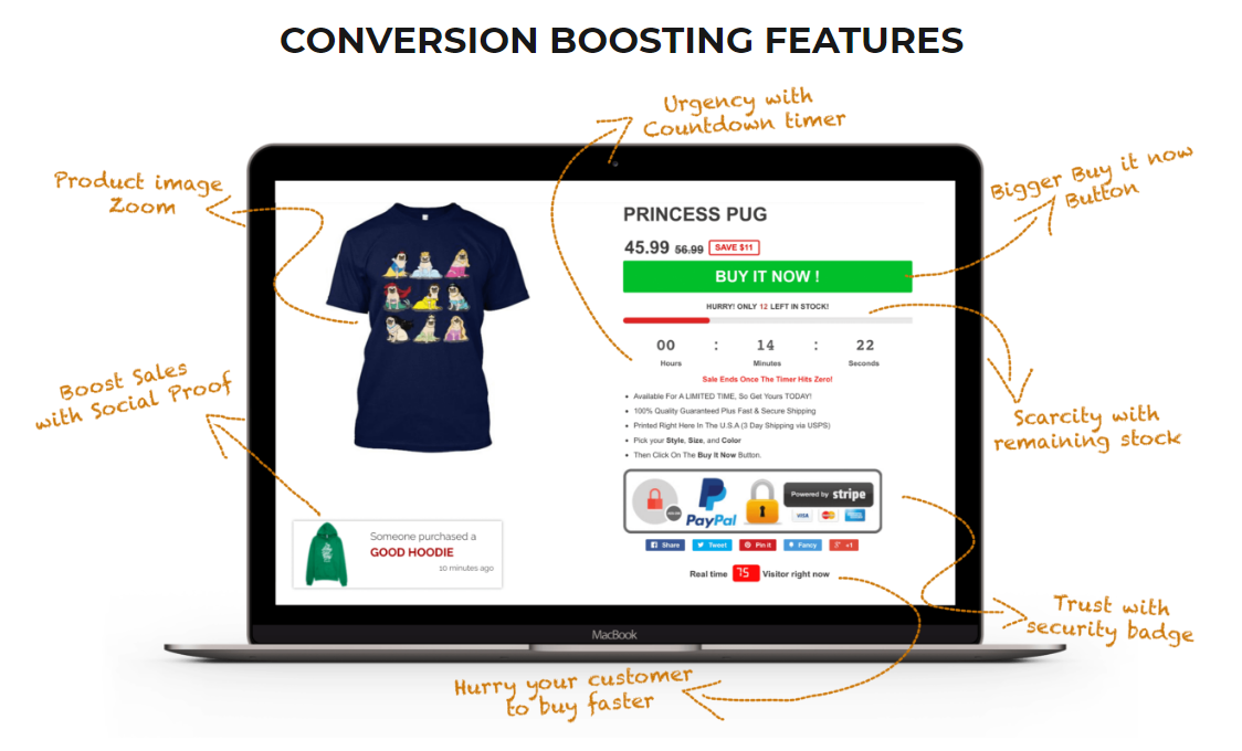 Shopify Booster Review Features
