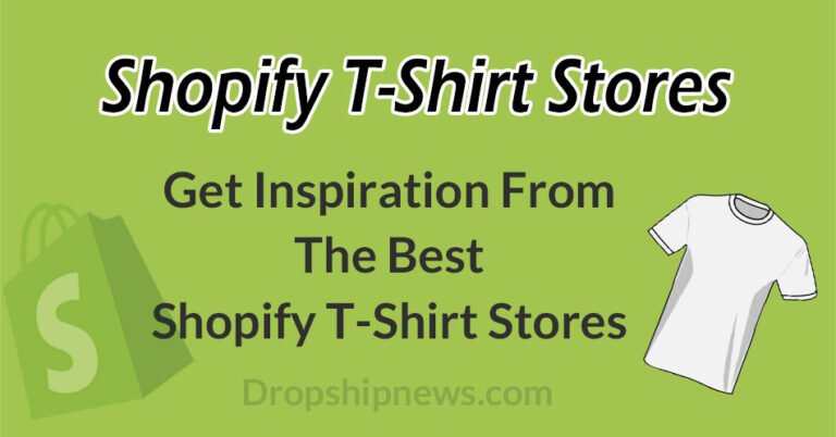 The 9 Best Shopify T-Shirt Stores – Great Examples