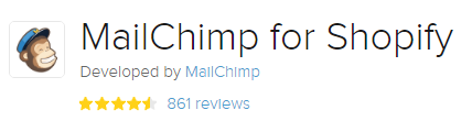 Mailchimp #2 Best Free Shopify Apps
