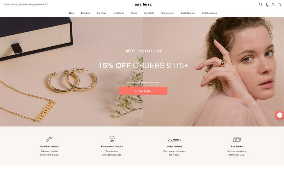 Anna Luisa Jewelry