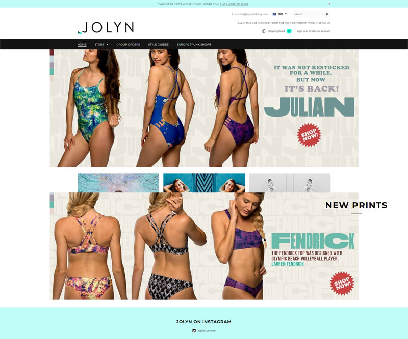 eujolyn-com Best Shopify Clothing Store