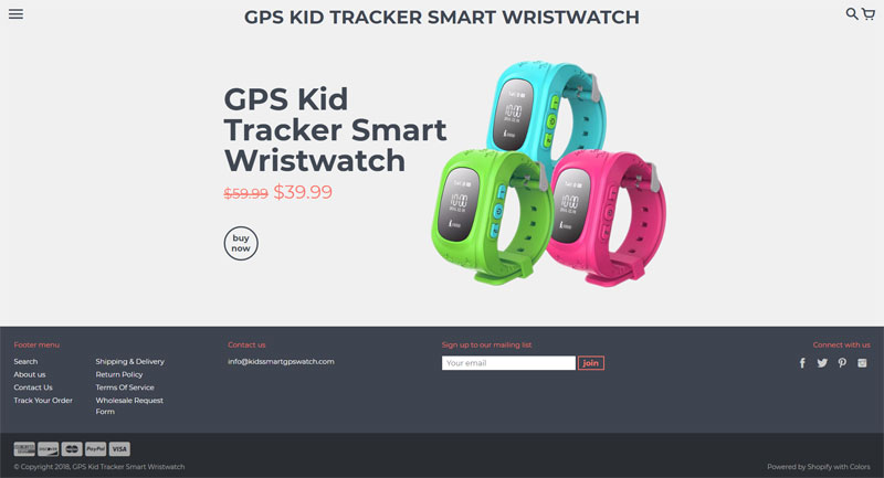Kids Smart Gps watch
