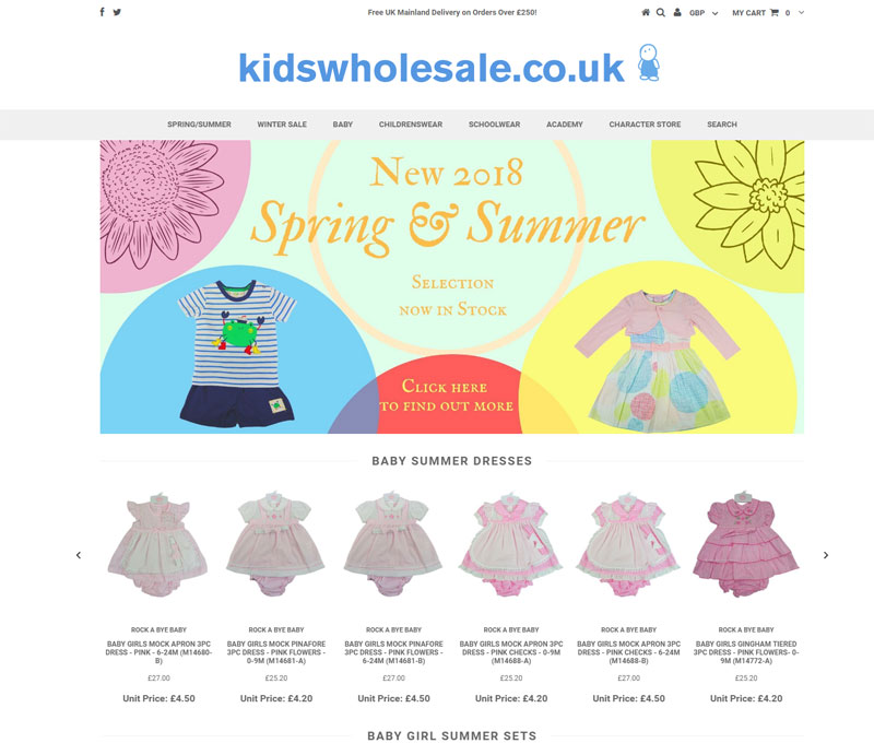 Kids wholesale One Of The Best Shopify Kids Stores