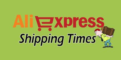 Aliexpress Shipping Times Header