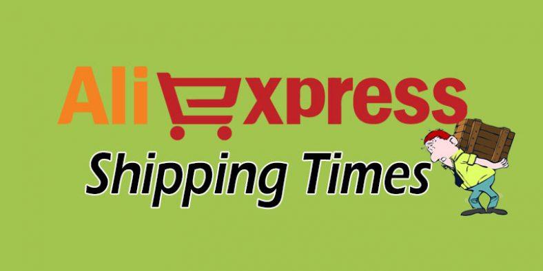 Aliexpress Standard & Premium Shipping Times
