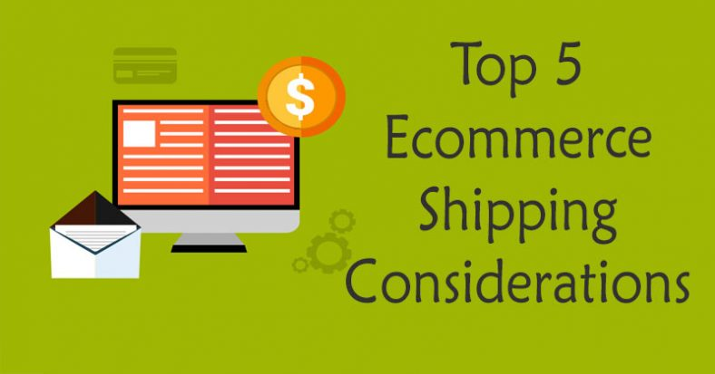 Shipping Considerations for E-Commerce Stores