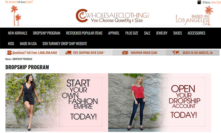 CC Clothing Wholesale