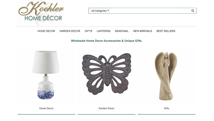 Koehler Home Decor Dropshipping