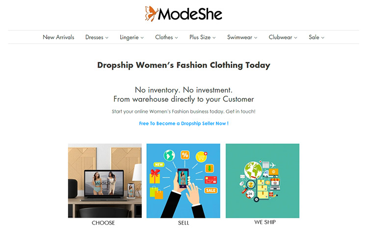Modeshe.com Dropshipping