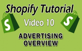 Shopify Tutorial For Beginners – Advertising Overview