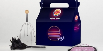 Burger King Adults-Only Valentine's Meal With an Adult Toy Inside