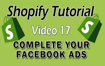 Shopify Tutorial For Beginners – Complete Your Facebook Ads Setup